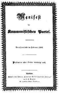 Manifiesto Comunista - K.Marx F.Engels [audiolibro]